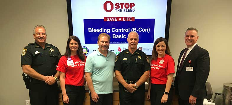 Stop the Bleed course team