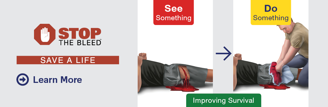 Stop the Bleed Save a Life